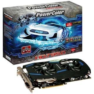 3072MB PowerColor Radeon HD 7950 PCS+