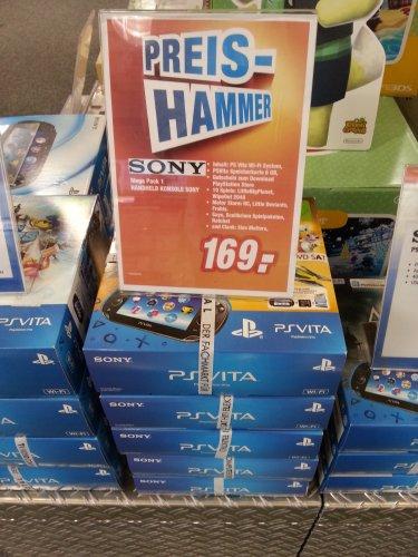 Sony PS Vita WiFi – Mega Pack (10 Spiele + 8GB Speicherkarte inklusive) beim Expert Totalmarkt in Bielefeld
