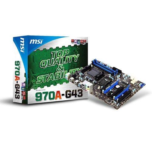 AMD Mainboard MSI 970A-G43 für 38,00€ inkl. Versand