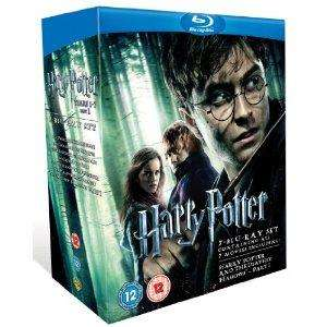 [Bluray Box] Harry Potter Collection 1-7.1  @Amazon.co.uk