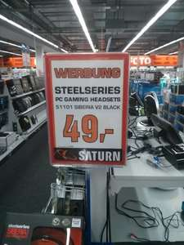 [Lokal?] Steelseries Siberia V2 @ Saturn Köln Porzmarkt