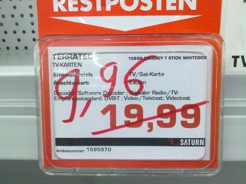 [Saturn Bochum]Terratec Cinergy T Stick RC