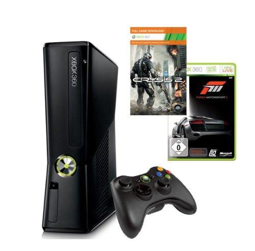 Xbox 360 - Konsole Slim 250 GB inkl. Forza 3 + Crysis 2 für 194€ @Getgoods