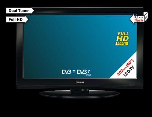 Toshiba 40 LV 833 G LCD Media Markt deutschlandweit