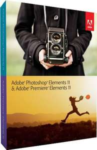 Adobe Photoshop Elements 11 & Adobe Premiere Elements 11 für 59 € statt 89.97€ AMAZON