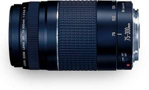 Objektiv Canon EF 75-300mm f4.0-5.6 III für nur 127,16 EUR inkl. Versand