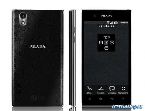 PRADA Mobiltelefon by LG 3.0 Schwarz bei MeinPaket.de