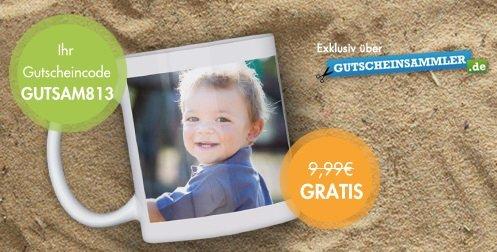 Fototasse für 3,95€ @Snapfish[Bestandskunden]