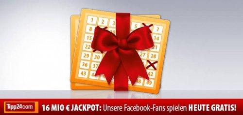 Nochmal 2,50 € Tipp24.com Gutschein [gepostet auf Facebook]
