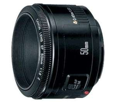 Canon EF 50 mm 1:1.8 @Amazon