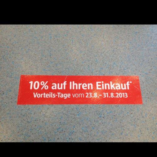 [Lokal Dresden] DM Drogeriemarkt 10 % auf alles auch auf iTuneskarten