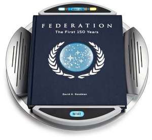 Star Trek Federation: The First 150 Years [Englisch] [Gebundene Ausgabe] für 38€ @Amazon.uk