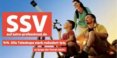 SSV auf astro-professional.de - reduzierte Teleskope