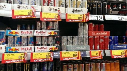 (REWE) Red Bull und Red Bull sugarfree für 0,99 € anstatt 1,49 €