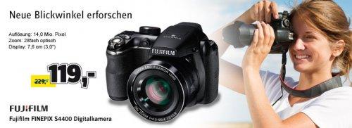 [CONRAD] Fujifilm FINEPIX S4400 Digitalkamera in schwarz für 99,00 - 113,45€