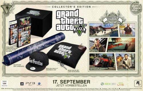 [XBOX 360] Grand Theft Auto V - Collectors Edition