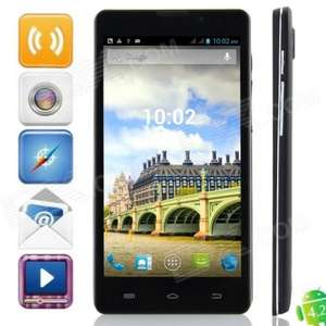 Solides Quad-Core Smartphone, 5 Zoll IPS Display, Android 4.2.1, Dual SIM