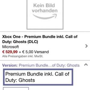 Xbox one day one inklusive call of duty Ghost