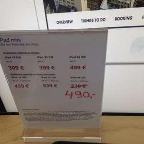 Lokal: iPad Mini 64GB inkl. UMTS