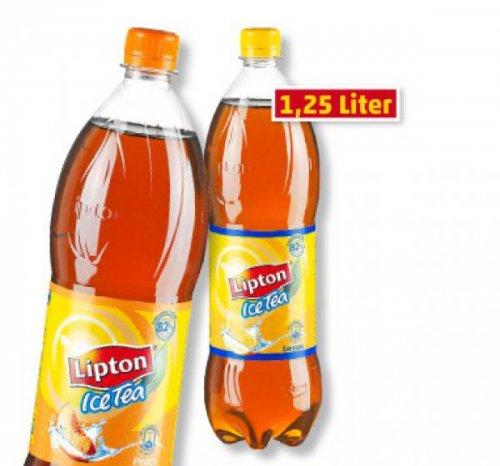 Lipton Ice Tea versch.Sorten 1,25l Flasche für 0,59 € LIDL Bundesweit Sa.7.09