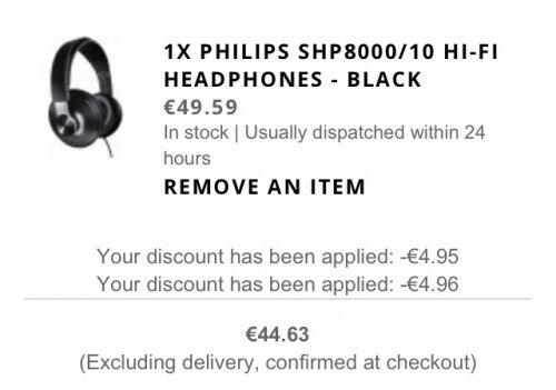 Kopfhörer Philips shp 8000/10