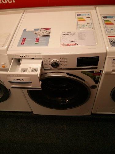 [Offline] iDos Waschmaschine Siemens WM16Y841 A+++ für 799,- (idealo 896€) bei Möbel Höffner