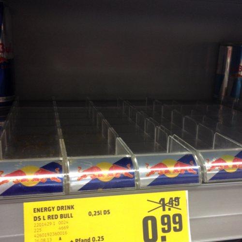 REWE ULM: Red Bull für 99 Cent