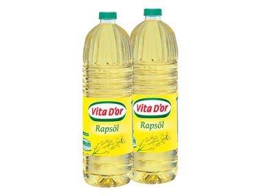 [LIDL]Vita D'or Rapsöl 1l 0,99€ (Sonst 1,29€) Mal wieder günstig Tanken oder Friteuse auffüllen
