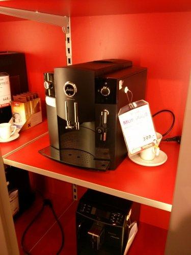 [Offline] Kaffeevollautomat Jura C5 für 399,- (idealo 465,-) bei Höffner