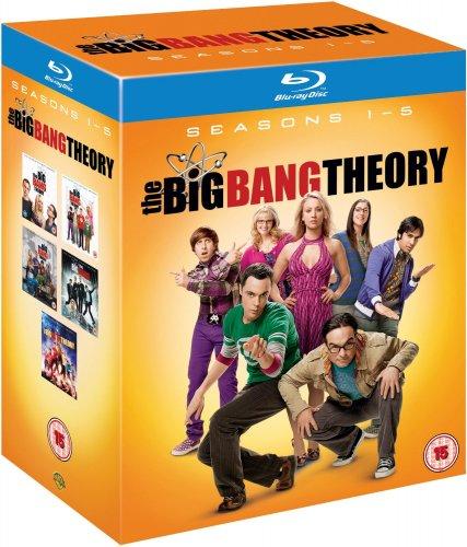 (UK) The Big Bang Theory - Complete Season 1-5 [10 x Blu-ray] für 37.75 € @ Amazon.Uk