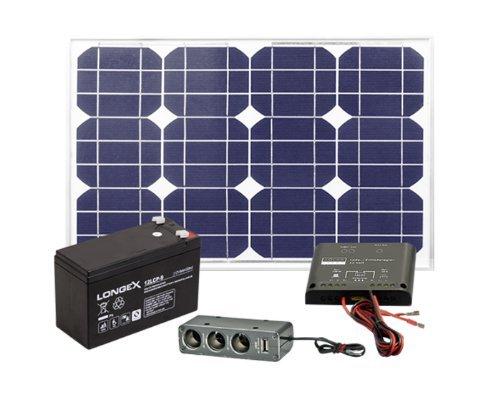 [Voelkner] Solarstrom Komplettset(20 Watt Modul, Laderegler & 9AH Batterie) für 104€ Vergleichspreis: 132,05€