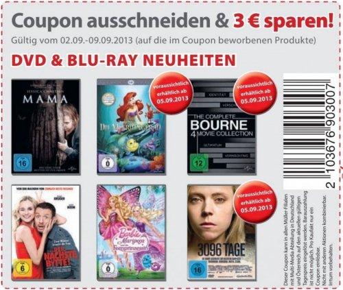 Bei Müller 3 € pro DVD sparen (vielleicht nur Lokal in Ulm?)