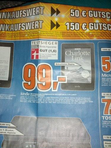 [Lokal] Saturn Erlangen   Kindle Paperwhite 99 EUR