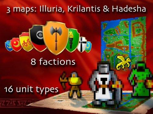 [iOS] Warlords Classic Port des Amiga Urgesteins heute kostenlos