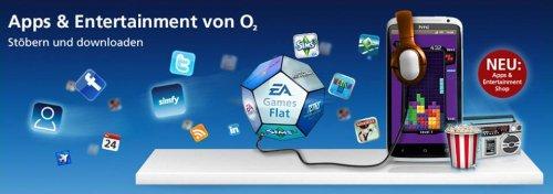 o2 Apps & Entertainment (3 Songs, 3 Games und 6 Klingeltöne) Kostenlos
