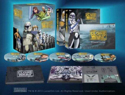 Star Wars - The Clone Wars Komplett Staffel 1 - 5 [Blu-ray] [O-Ton] wowhd.de