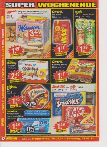 Pringles für 1,29 Euro bei NETTO + weitere Angebote