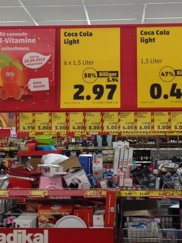 [Lokal] Coca Cola Light 1,5l 0,49€ (1 l =0,33) !!! Penny Halle Saale!