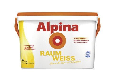 ALPINA RaumWeiss 10 Liter - REAL (OFFLINE)