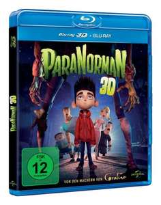ParaNorman (+ Blu-ray) [Blu-ray 3D] für 9,99 € @ Amazon.de
