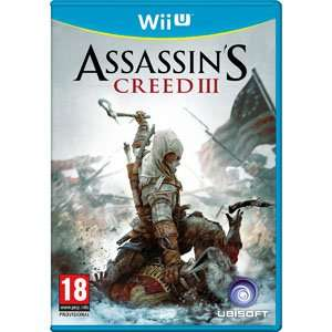 (UK) Assassins Creed 3 [Nintendo WII U] für 19.84€ @ Shopto