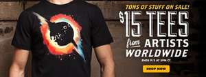 Threadless - T-Shirts $15 auch Made Shops/Marvel/Disney/Monster AG