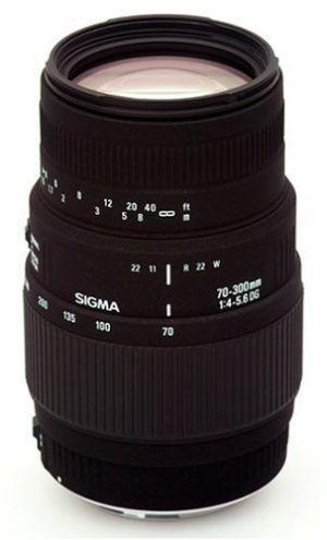 Sigma Objektiv für Canon AF 70-300mm 4.0-5.6 DG Makro für 128€