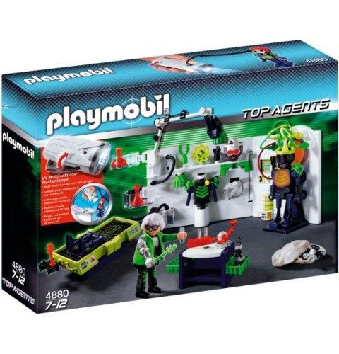 Playmobil 4880 Robo-Gangster Labor mit Multifunktionstaschenlampe