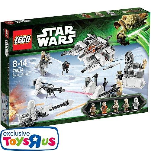 LEGO® Star Wars - 75014 Battle of Hoth @toysrus.de + Lego Schlüsselanhänger und Speedorz gratis