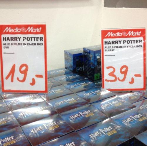 Harry Potter für 39€ als BluRay - Media Markt Leipzig (Brühl)
