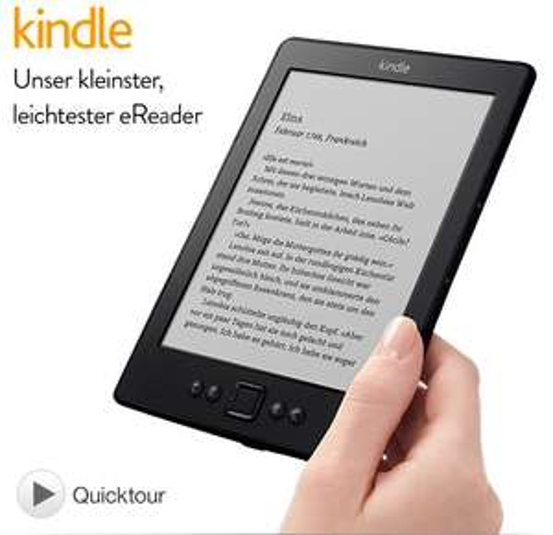 Amazon Kindle WiFi für 49€ @Amazon