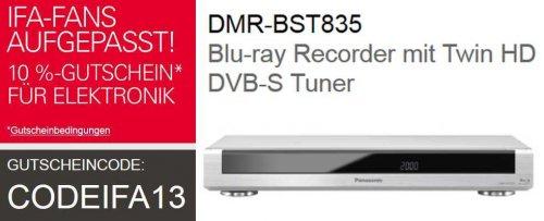 PANASONIC DMR-BST835 Blu-ray Recorder € ebay