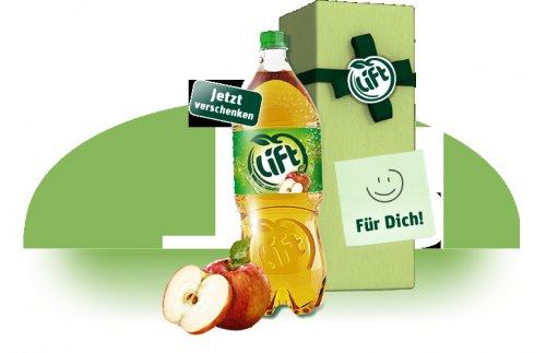 Lift-Apfelschorle 1,5L for Free!