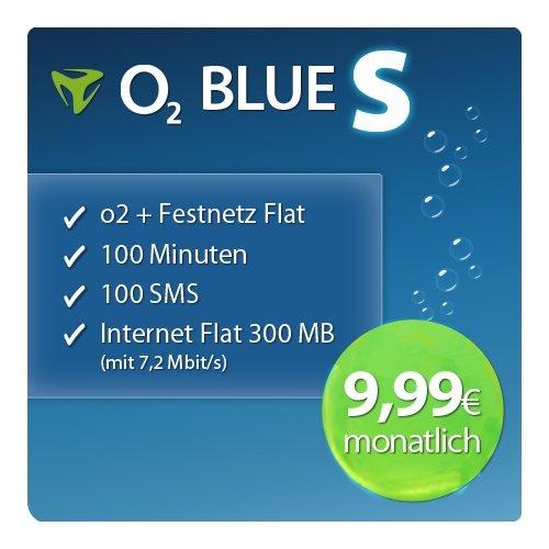 O2 Blue S oder O2 Blue Select für rechnerische 9,99€